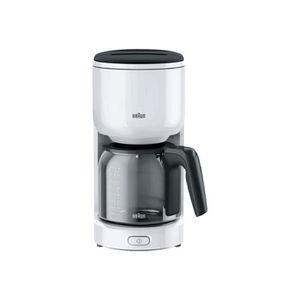 MACHINE À CAFÉ Braun KF 3100 Cafetière 10 tasses blanc