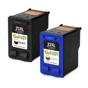 CARTOUCHE IMPRIMANTE Cartouches d'encre compatible avec HP 21 22 XL pou