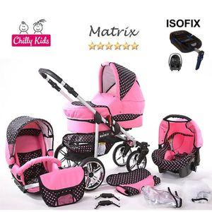 PACK VOYAGE Matrix 2 Poussette Trio ISOFIX Nacelle Siège Auto