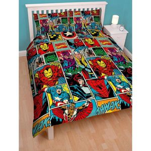 housse de couette spiderman 200x200 achat vente housse de couette spiderman 200x200 pas cher. Black Bedroom Furniture Sets. Home Design Ideas