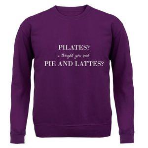 SWEATSHIRT Dressdown - I Thought You Said Pie & Lattes - Unis