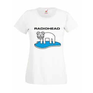 T-SHIRT T-shirt  femme Radiohead - white Bear Logo T-shirt