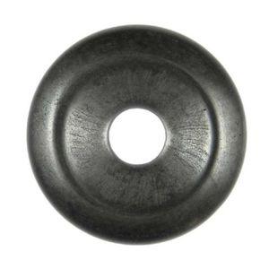 PENDENTIF VENDU SEUL Donut Pi Chinois en hématite pour pendentif - 3 cm