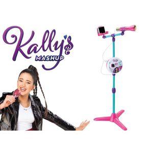 MICRO - KARAOKÉ SMOBY Kally's Mashup Microphone Sur Pied