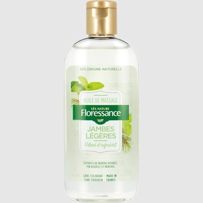 FLORESSANCE PAR NATURE Huile de massage Jambes légères - 150 ml