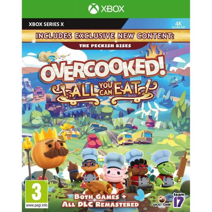 Overcooked All You Can Eat Jeu Xbox One & Xbox Series X