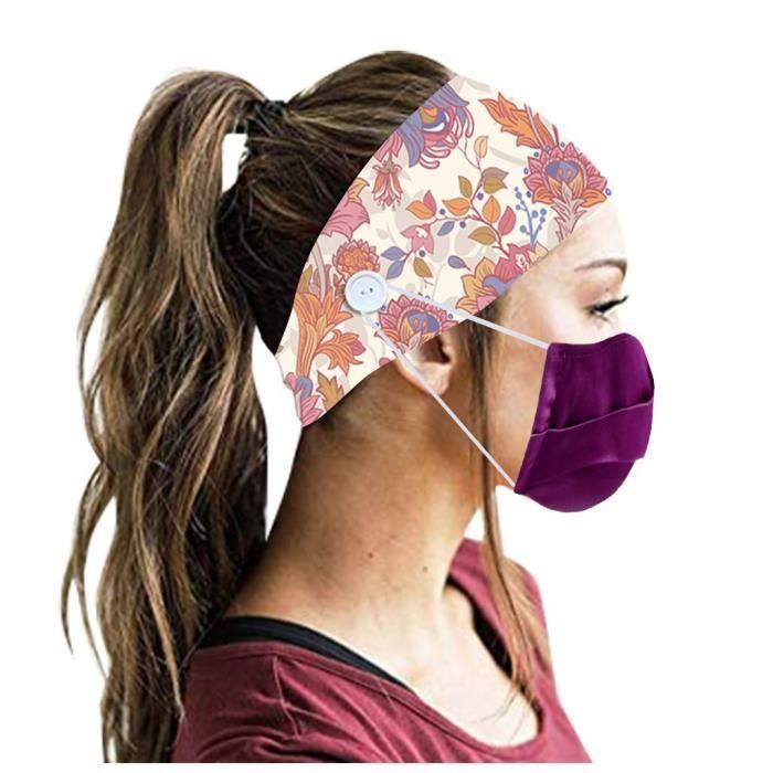 【HARNAIS DE TETE】Hommes Femmes Bandeau Bandeau Running Yoga Élastique Bandeau Cheveux Accessoires De Cheveux - Multicolore25