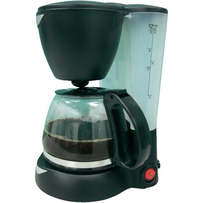 Cafetière filtre - Noir