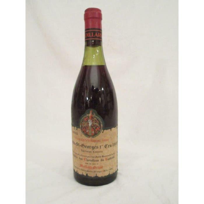 nuits saint-georges moillard premier cru tastevinage b1 rouge 1949 - bourgogne france