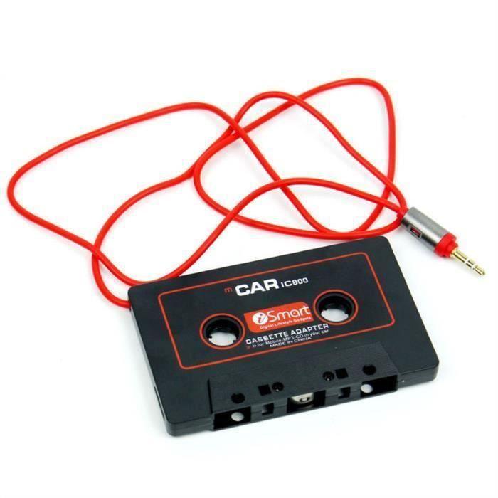 2017 Voiture Goudio Cassette Cassette Godaptateur 3.5mm Jack GoUX Pour Mp3 Radio CD Convertisseur Go1809NYCY70819101 Go69968