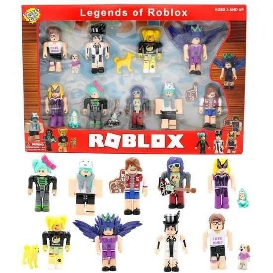 Roblox TP2006 monde neuf figurines Pack 7 cm modèle poupées jouets Figurines Collection blocs de construction cadeau de noël