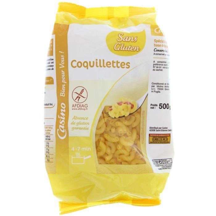 Coquillette Sans gluten 500g
