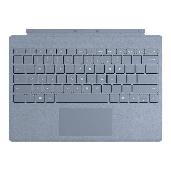 Clavier Microsoft Signature Type Cover pour Surface Pro – Bleu Glacier