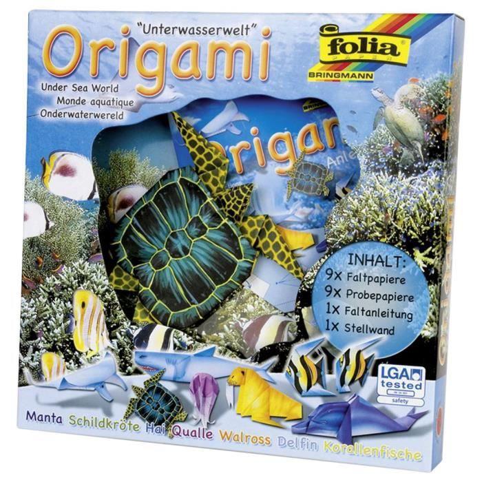 Folia ? Origami Animaux Mondes ? Monde sous-Marin - 91104