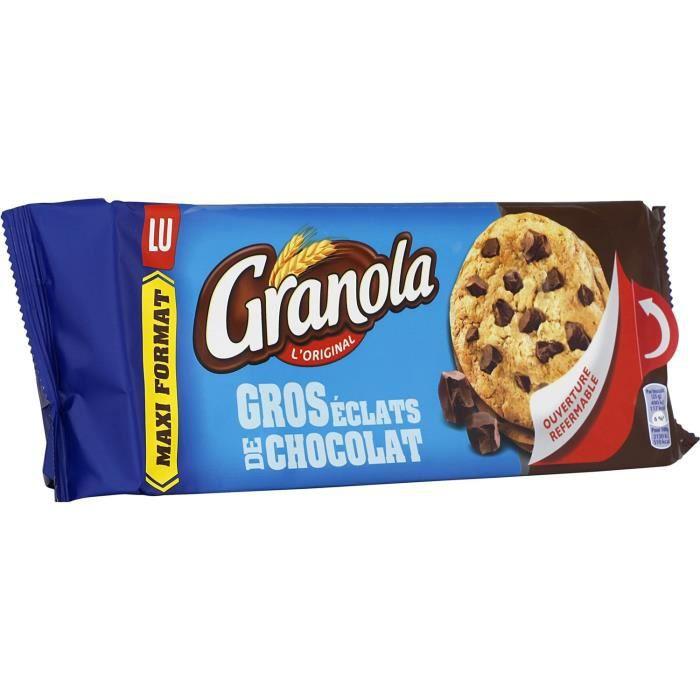 Granola L'Original Gros Éclats de Chocolat - LU - 276 g