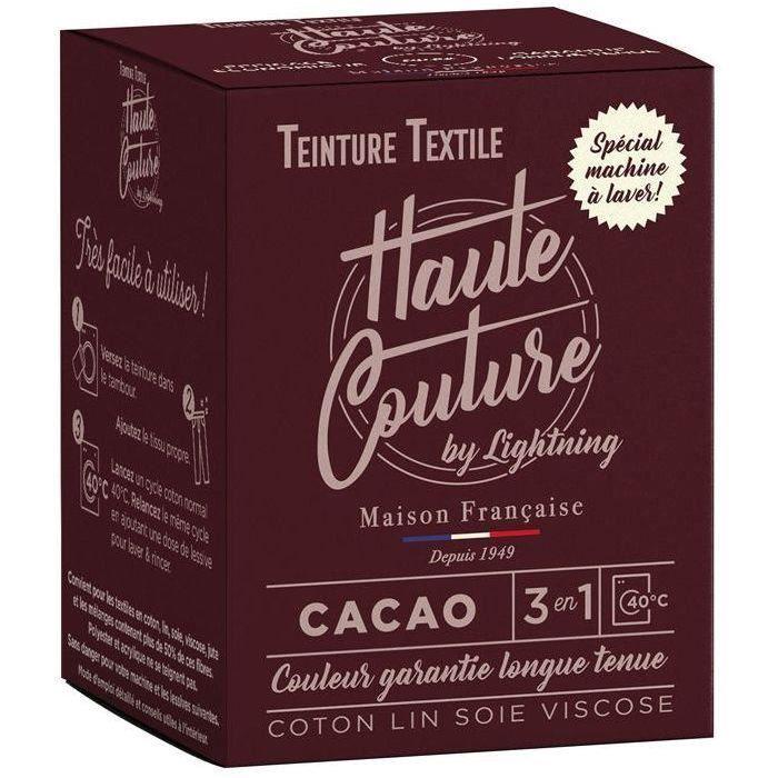 Teinture textile haute couture cacao 350g
