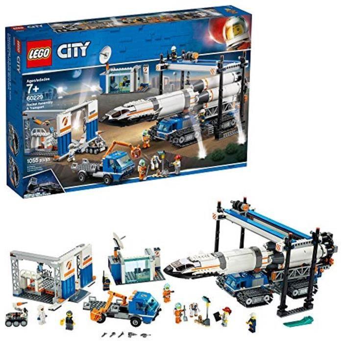 Jeu D'Assemblage LEGO D60KU Ville et Transport Rocket Assemblée 60229 Kit de construction, nouveaux 2019 (1055 Pieces