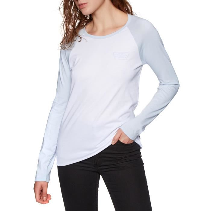 Vans Full Patch Raglan Womens Long Sleeve T-Shirt