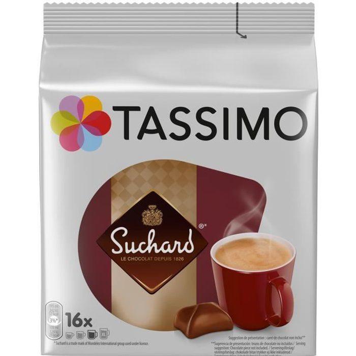 LOT DE 2 - TASSIMO Suchard Chocolat dosettes - 16 dosettes de 20 g