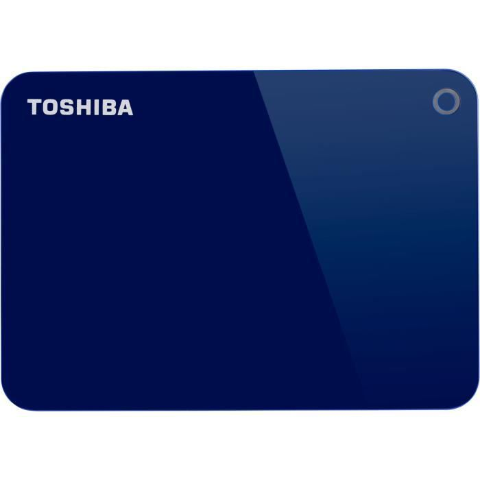 TOSHIBA - Disque Dur Externe - Canvio Advance - 1To - USB 3.0 (HDTC910EL3AA)