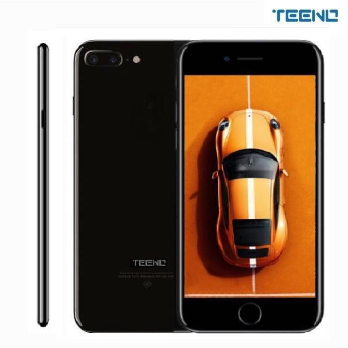 """SMARTPHONE TEENO 5.5"""" Pouces Smartphone 4G Débloqué Noir (Dou"""