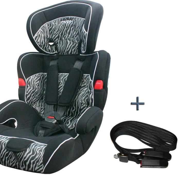 siege auto groupe 1 2 3 et ceinture isofix zebre achat vente si ge auto r hausseur siege. Black Bedroom Furniture Sets. Home Design Ideas