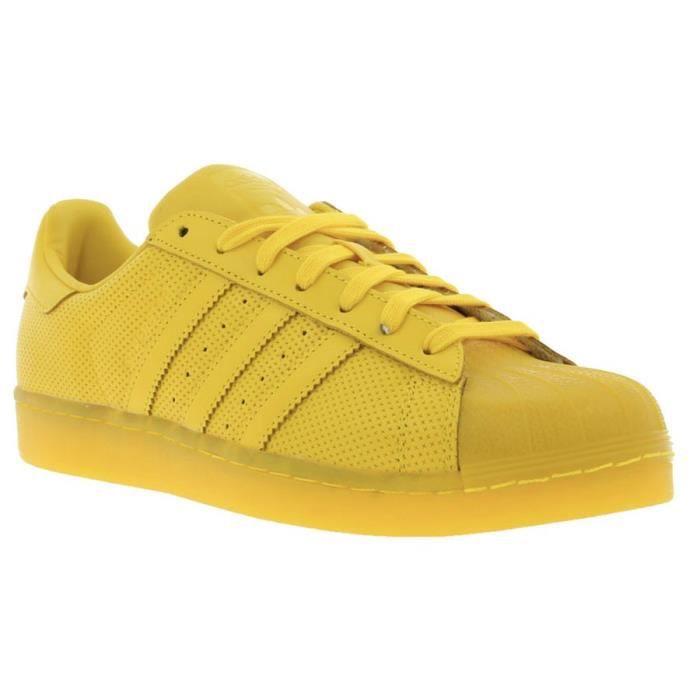 adidas original superstar jaune