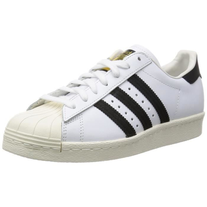 ADIDAS 80s Superstar Sneakers bas-top pour hommes HSF4O Taille-43 ...