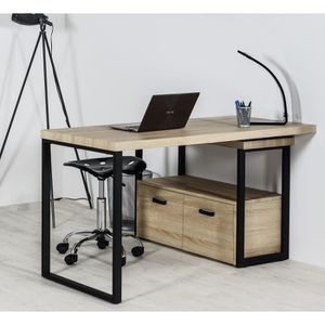 bureau scandinave achat vente bureau scandinave pas cher black friday le 24 11 cdiscount. Black Bedroom Furniture Sets. Home Design Ideas