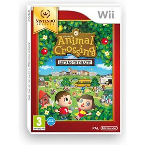 JEUX WII Animal Crossing Let's Go To The City Selects Wii