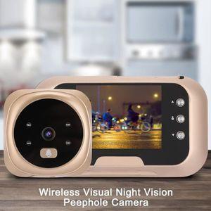 SONNETTE - CARILLON 3,0 pouces interphone sans fil visuel visionneuse