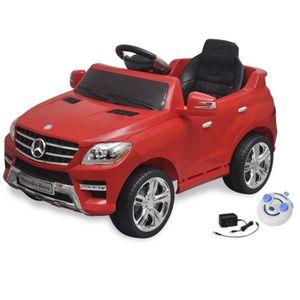 PORTEUR - POUSSEUR Voiture électrique pour enfants Mercedes Benz ML35
