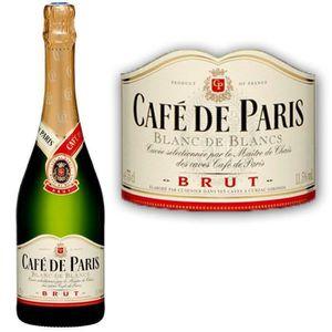 PÉTILLANT & MOUSSEUX Blanc de Blancs brut Café de Paris 11,5° 75 cl