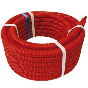 MANCHON - RACCORD - COUDE SOMATHERM Tube PER prégainé - Rouge - 13 x 16 - L