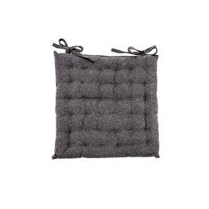 COUSSIN DE CHAISE  Galette de Chaise 100% Coton 40 x 40 x 4 cm à Noue