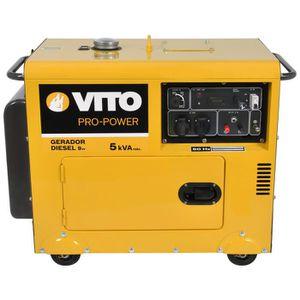 GROUPE ÉLECTROGÈNE Groupe électrogène Diesel VITO POWER de 5 kVA. Il