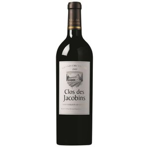 VIN ROUGE Clos des Jacobins - Saint-Emilion Grand Cru 2013 G
