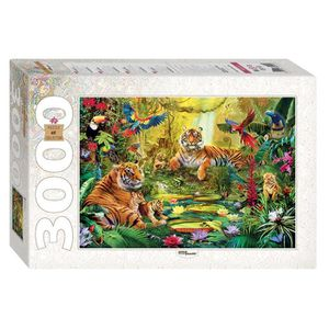 PUZZLE Puzzle 3000 pièces Jungle