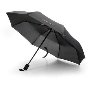 PARAPLUIE MELVIN Parapluie Auto Ouverture/Fermeture Noir