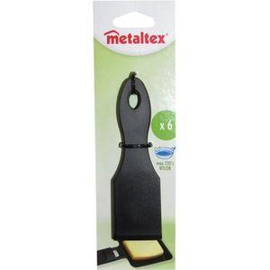 SPATULE - MARYSE Lot de 6 spatules à raclette en plastique