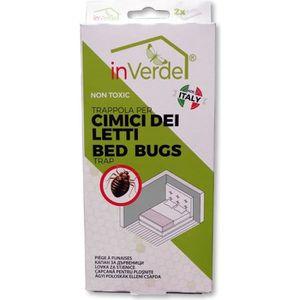PIÈGE NUISIBLE MAISON x2 détecteurs punaise de lit avec attractif nature