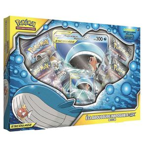 CARTE A COLLECTIONNER Pokémon Coffret Francais de 4 boosters Magicarpe e