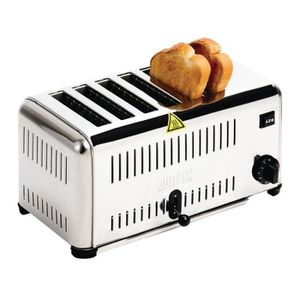 GRILLE-PAIN - TOASTER Grille-pain à usage professionnel 6 tranches Buffa