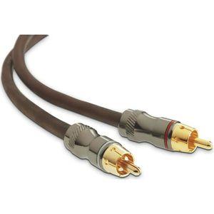 CÂBLE TV - VIDÉO - SON FOCAL ER1 Câble Stéréo Haute Performance pour Ampl