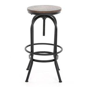 TABOURET DE BAR IKAYAA Chaise de style industriel vintage siège aj