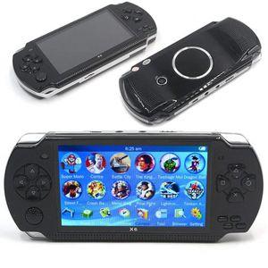 ROBOT - ANIMAL ANIMÉ Console de jeu de poche X6 PSP portable pour enfan