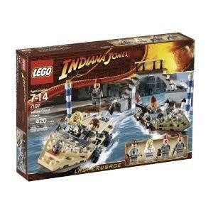 ASSEMBLAGE CONSTRUCTION Lego - 7197 - Indiana Jones - Poursuite à Venise