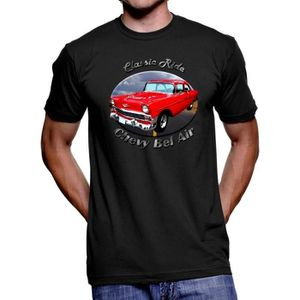 T-SHIRT homme Fashion Coton Tee Shirts Bel Air Classic Rid