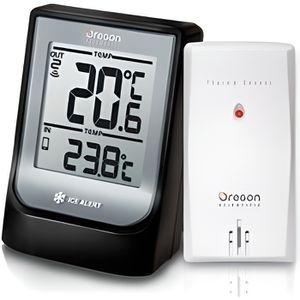THERMOMÈTRE - BAROMÈTRE Weather@Home Thermomètre Intérieur/Extérieur sans