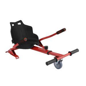 ACCESSOIRES GYROPODE - HOVERBOARD Kit Kart Universel Pour Gyropode Hoverkart Rouge